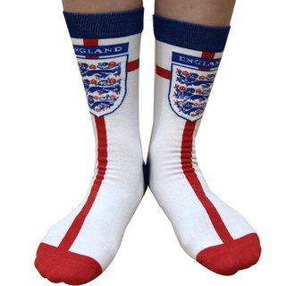 2018 FIFA world cup - Flag Collection Men/Women England Knitted Crew Socks