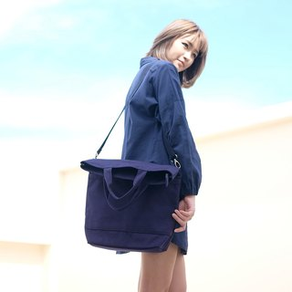 Messenger bag (Navy Blue)