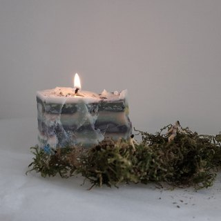 Cubes | Soy wax candle handmade soy candle #L