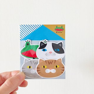E*group house series big head No. 1 G building waterproof sticker styling sticker sticker package