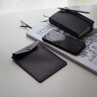 Leather Case皮夾: The Panton Hill Leather Case-L040 SMALL-cow leather, hard drive, xmas, gift,handsewn,unisex,clutch,unisex,hand sewn,personalised, 便攜式硬盤,移動硬盤,皮包,皮夾,USB線,收納包,牛皮,手工縫制,禮物,黑色