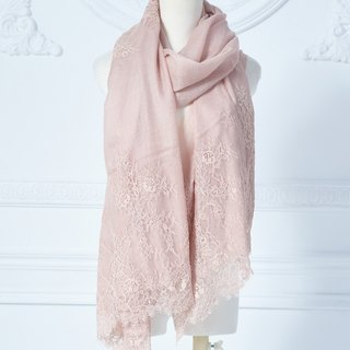 100% Pashmina French lace scarf shawl