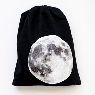 [My little star] Super Moon hand-made double-sided organic cotton cap (Designer Edition)