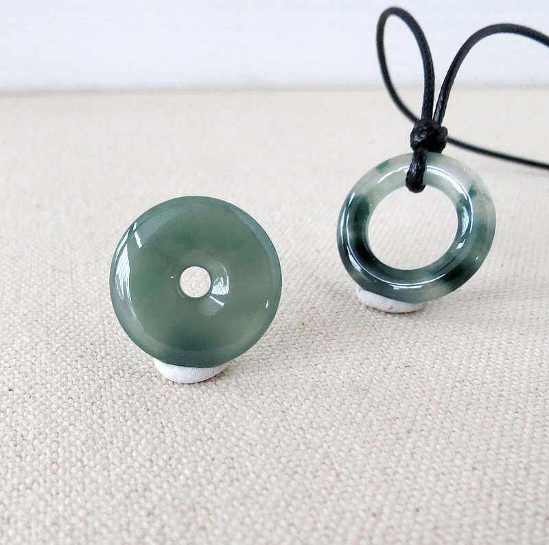 [Ping An · Ru Yi] Ping An Jade Korean Wax Necklace*SF17*Lucky, warding off evil spirits, preventing villains
