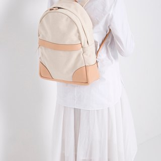 JulyChagall July Xiakar Canvas with 鞣 鞣 leather bag shoulder bag
