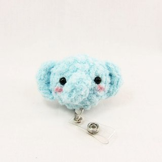 Elephant - Sky Blue - Ticket Clip - Clip