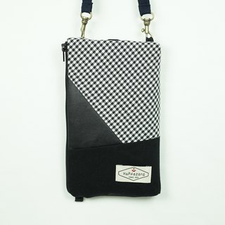 HAZA touch phone bag / passport bag (with hook strap)