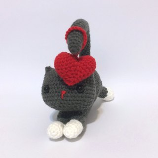 Aprilnana_yoga cat crochet doll, amigurumi