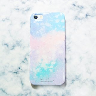 Wonderland series ll small dream ll hand-painted oil painting phone case