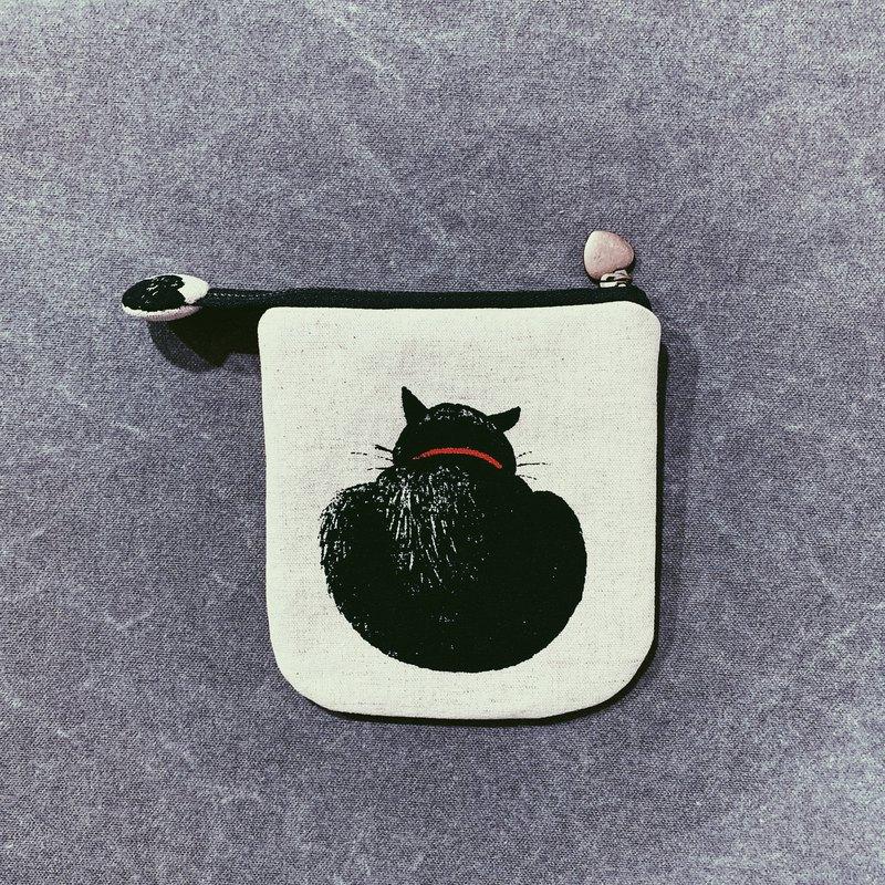 黑貓 零錢包