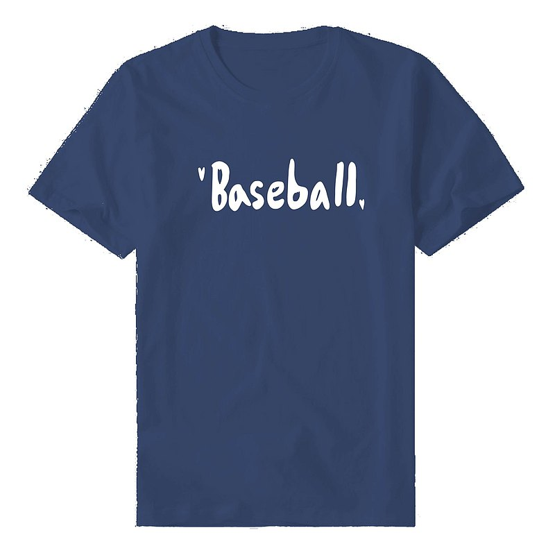 |Tee| I love baseball T Shirt top (8 colors can be selected)