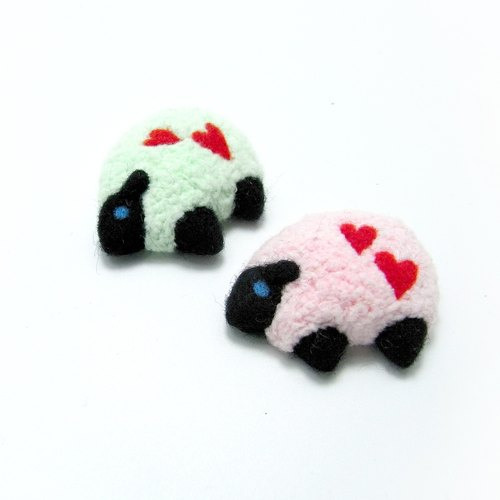 <Wool felt> Sheep with Love(M Size) - by WhizzzPace