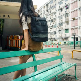 Backpack - Expandable - Sesame by J11