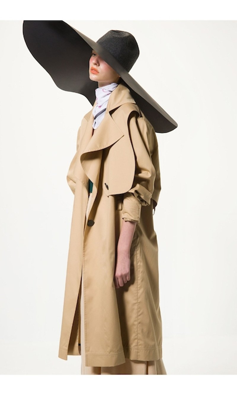 Sofia summer trench coat