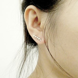 Sterling Silver Spiral Ear Climber