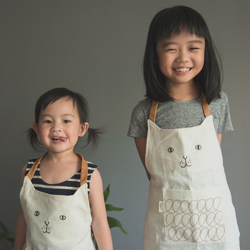 Cat kid apron