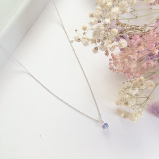 Kissing youth clavicle chain S925 sterling silver necklace anti-allergy