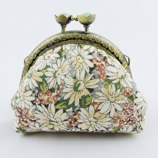 Small garden (small) purse mouth gold package