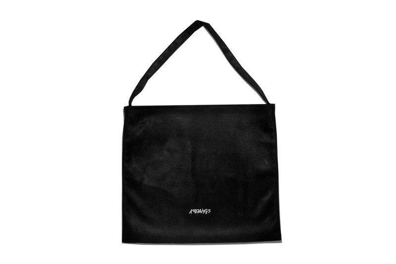 71aa1f721cec Black leather bag - Designer Kodangs