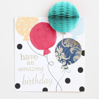 【caroline gardner】Have an amazing birthday balloons card PMM005