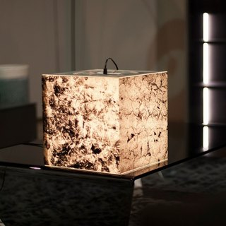Get Stoned Light Cube Lamp by UNIQCUBE