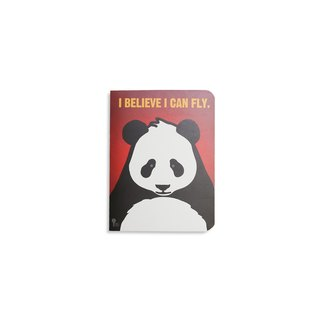JIUKOUSHAN nine mountain 320Pages bare white notebook Panda