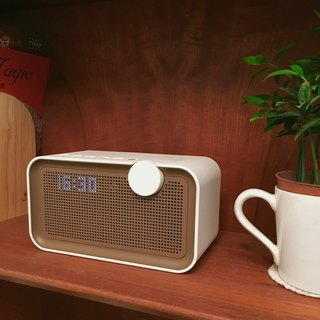 AOORTI :: Retro simple HiFi home wireless Bluetooth audio # clock