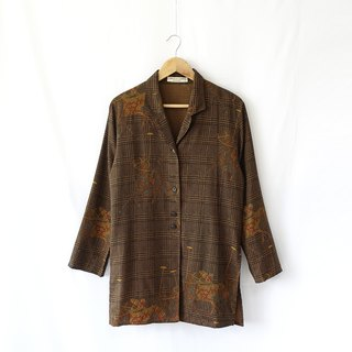 │Slowly│ vintage shirt. Jacket 40│vintage. Retro. Literature