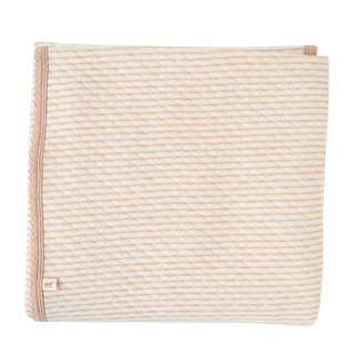 [SISSO organic cotton] coffee strip air cotton blanket