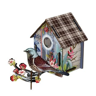 Italy MIHO imported gorgeous wooden design bird house ornaments (CASA M-72) (medium) spot