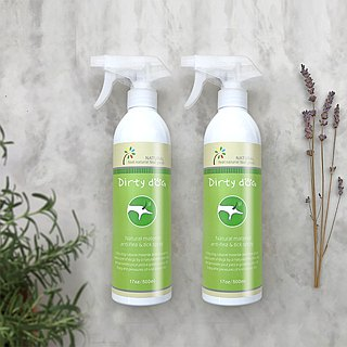 Dirty DogNatural material anti-flea spray