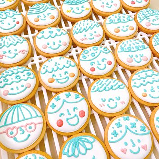 妳 / Your one hundred kinds of smile icing cookies 8 pieces (receipt / wedding)