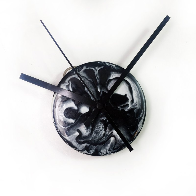 【Clock n Clock - SMALL ・Planet・Hand made wall clock / wall hanging】10cm