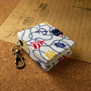[Navigation sailing anchor] mini small phase key ring 5cmX4.3cm - custom small things