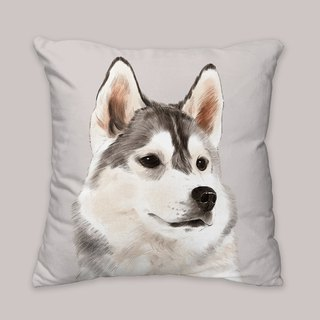[I will love you forever] Classic Shiqi dog animal pillow / pillow / cushion