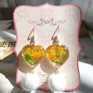 Pressed Flower Earrings. Handmade Jewelry with Real Flowers, Part1