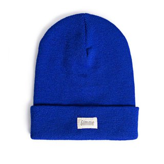 Plain knitted wool cap (four colors)