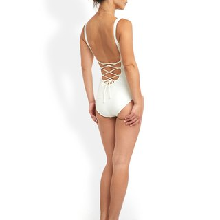 Chloe - Absolute Classic Sculpture Swimwear - Ivory