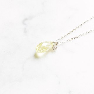 ::漾:: Goose Yellow - Clear Muscle Glow Cutting Clavicle Chain