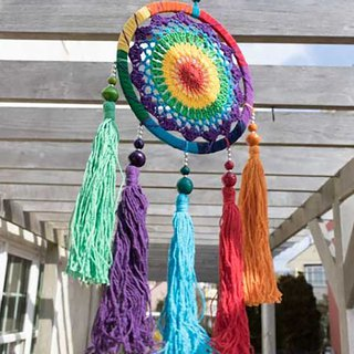 Pre-order color dream catcher (three models) BXXP8665