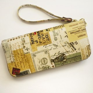 Retro memories. Waterproof long clip / wallet / purse / purse