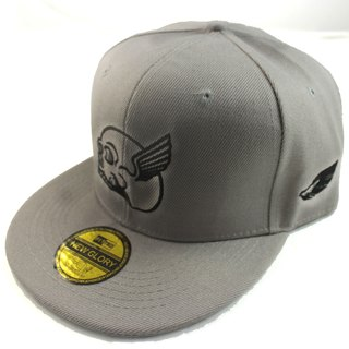 ICARUS Yikalusi original design trend after deduction baseball cap / hat plate (gray section)