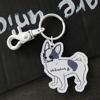 Chihuahua key ring
