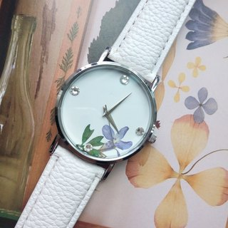 Customer order - Dale, Pressed Flower Watch