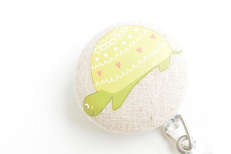 Feel the bag buckle telescopic folder - turtle