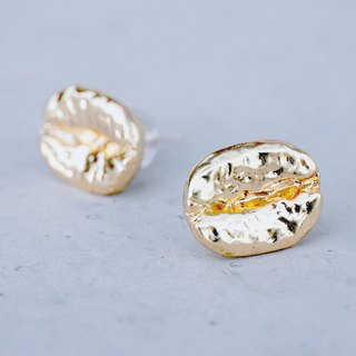 COFFEE BEAN - 18K Gold <once upon a time*耳環>