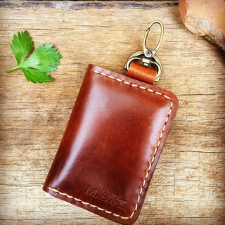 wallet keychain for vehicle 2nd edition  (color brown)