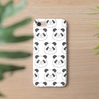 iphone case white panda pattern for iphone5s,6s,6s plus,7,7+, 8, 8+,iphone x