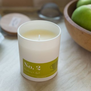 English Candle HomeScenter Raspberry with Apple