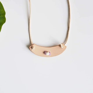Sea World Collection   |  Minimalist Handmade Statement Necklace  no.11